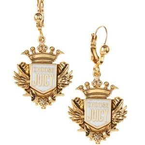 Juicy Couture | Shield Drop Earrings